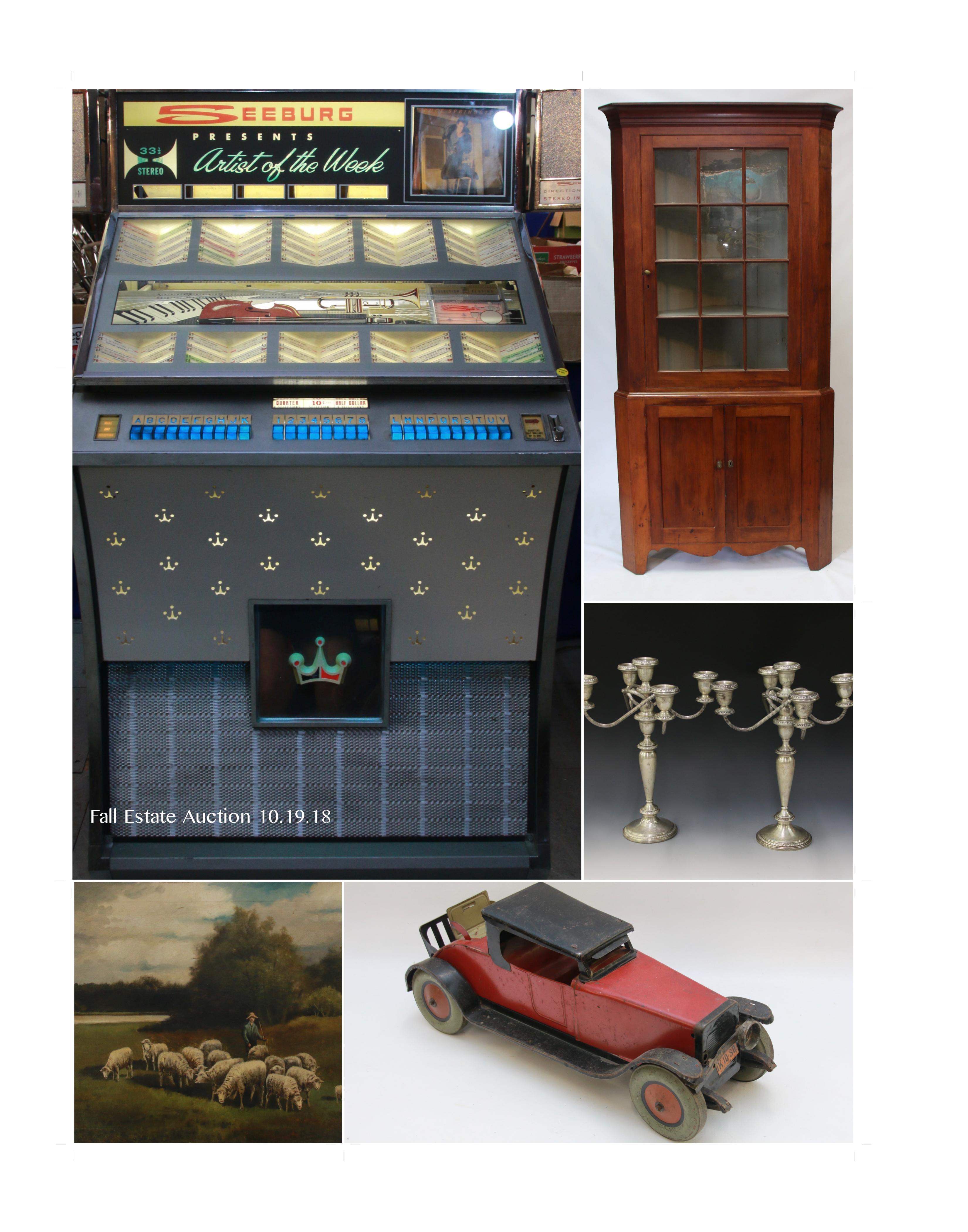 Fall Estate Antique Auction