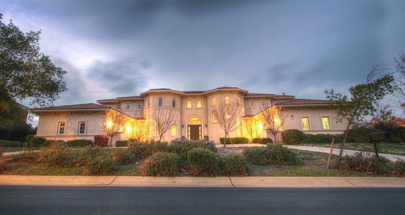 Mediterranean Style Home In Pleasanton, CA