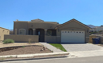 Live Auction: Single Family Home In El Paso, TX