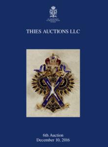 Thies Auctions, LLC - Auction 06 Catalog
