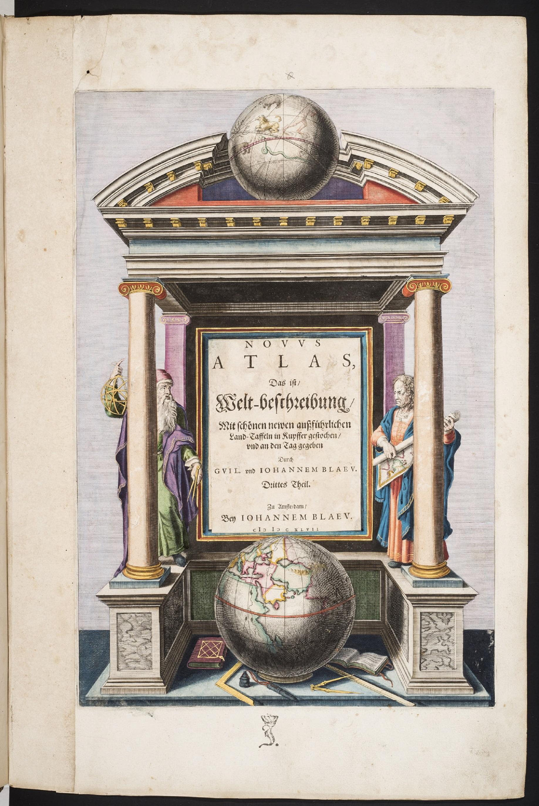 BLAEU, Willem & Johannes. Novus Atlas