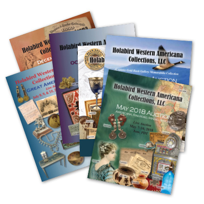 Printed Auction Catalog