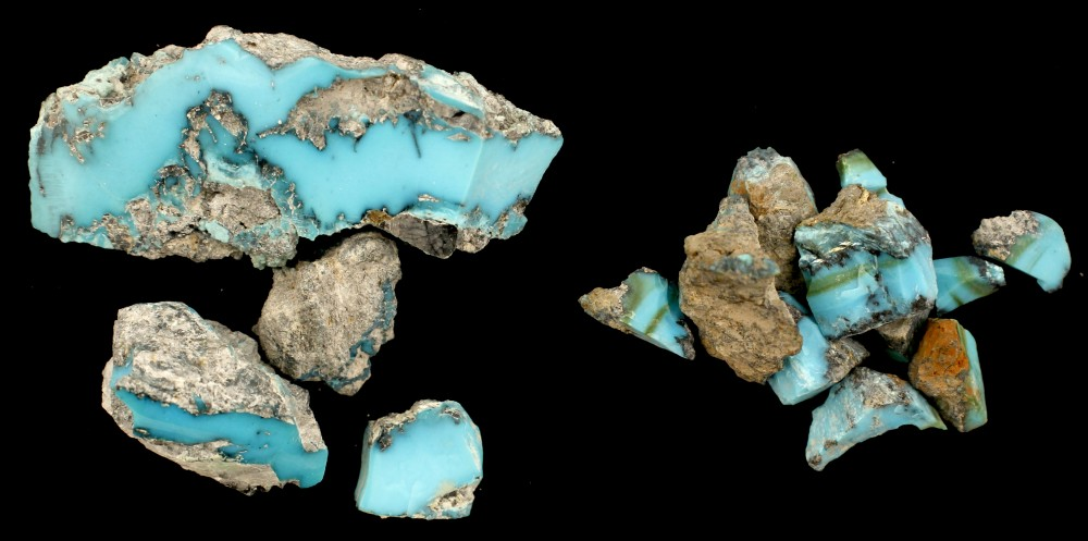 Lot 2027 - Carlin Mine Turquoise