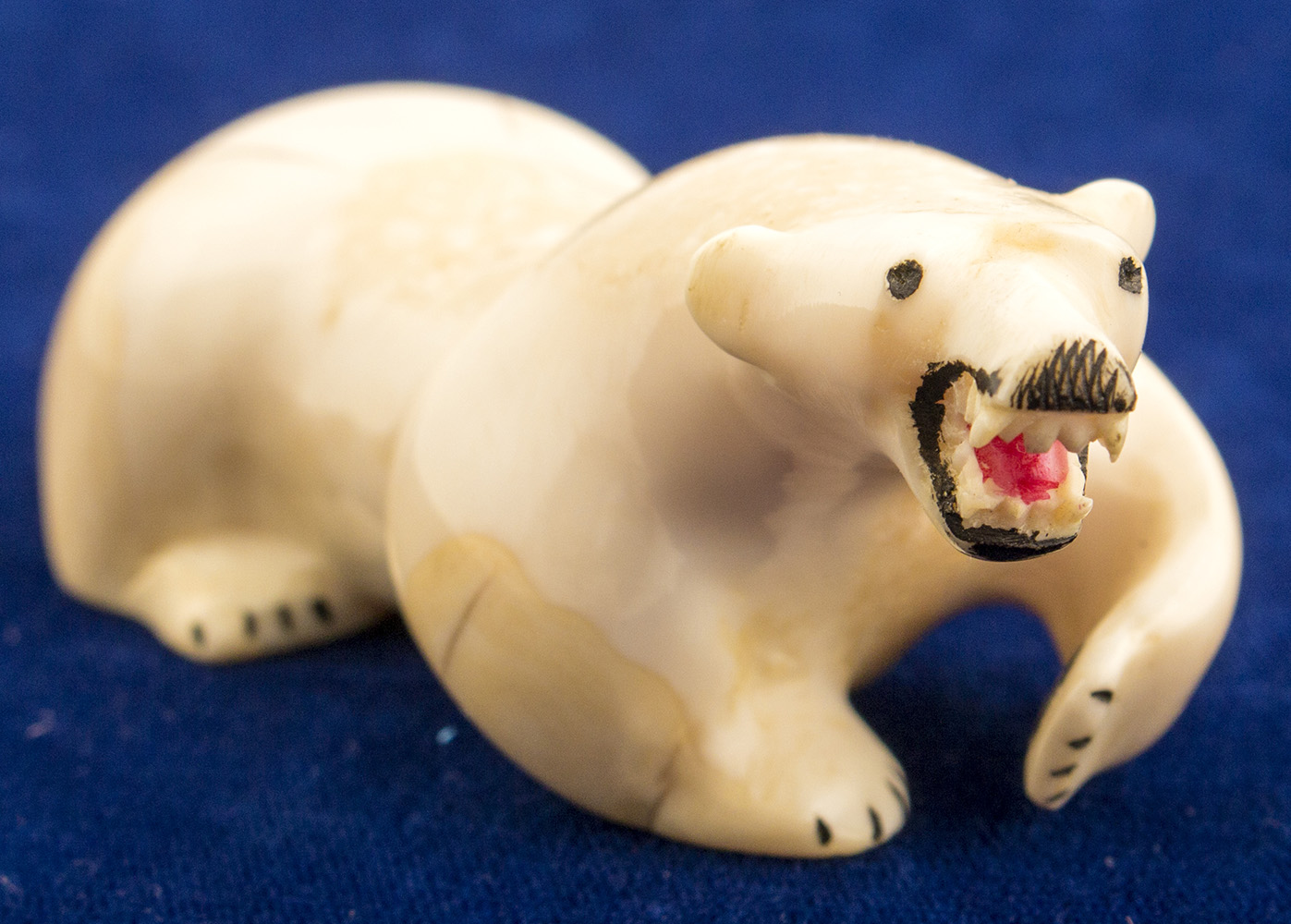 Lot 3272 Ivory Polar Bear Fetish