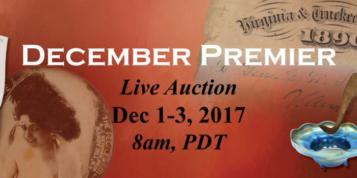 December 2017 Premier Auction