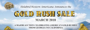 March 2018 Gold Rush Auction