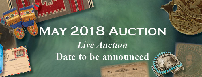 May 2018 Auction
