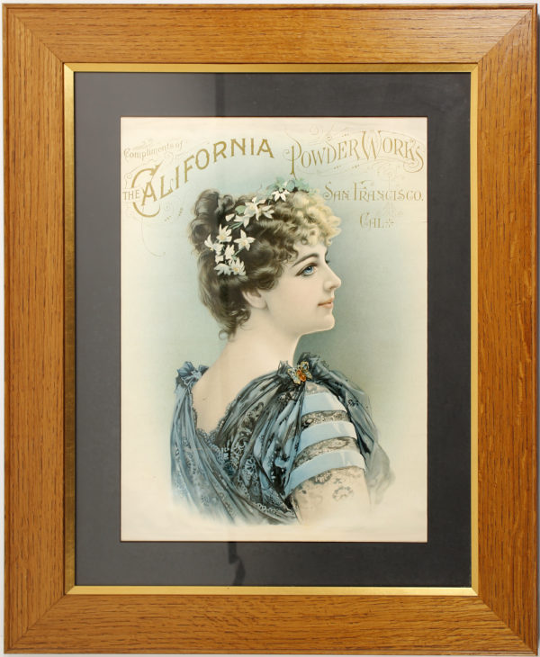 Lot #1282 California Powder Works Poster