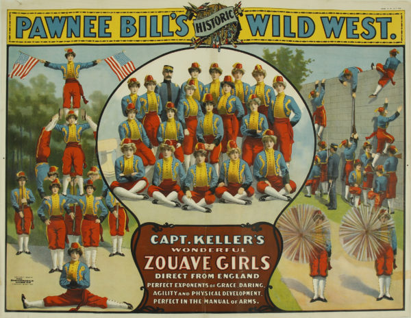 Lot #1216 Pawnee Bill's Historic Wild West Poster