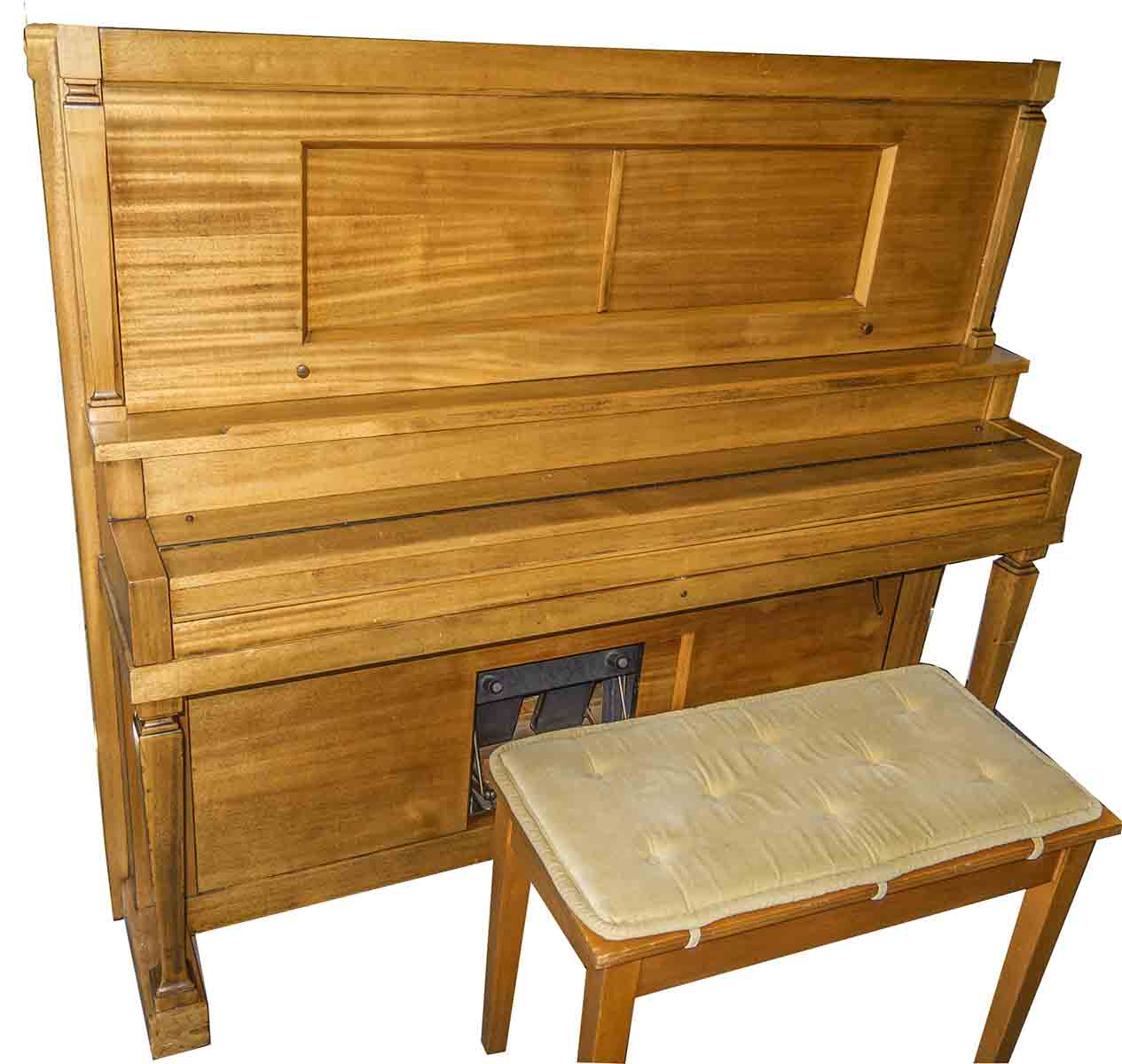 Mason Player Piano With 300 Music Rolls (Honk-Tonk Bar/Saloon)