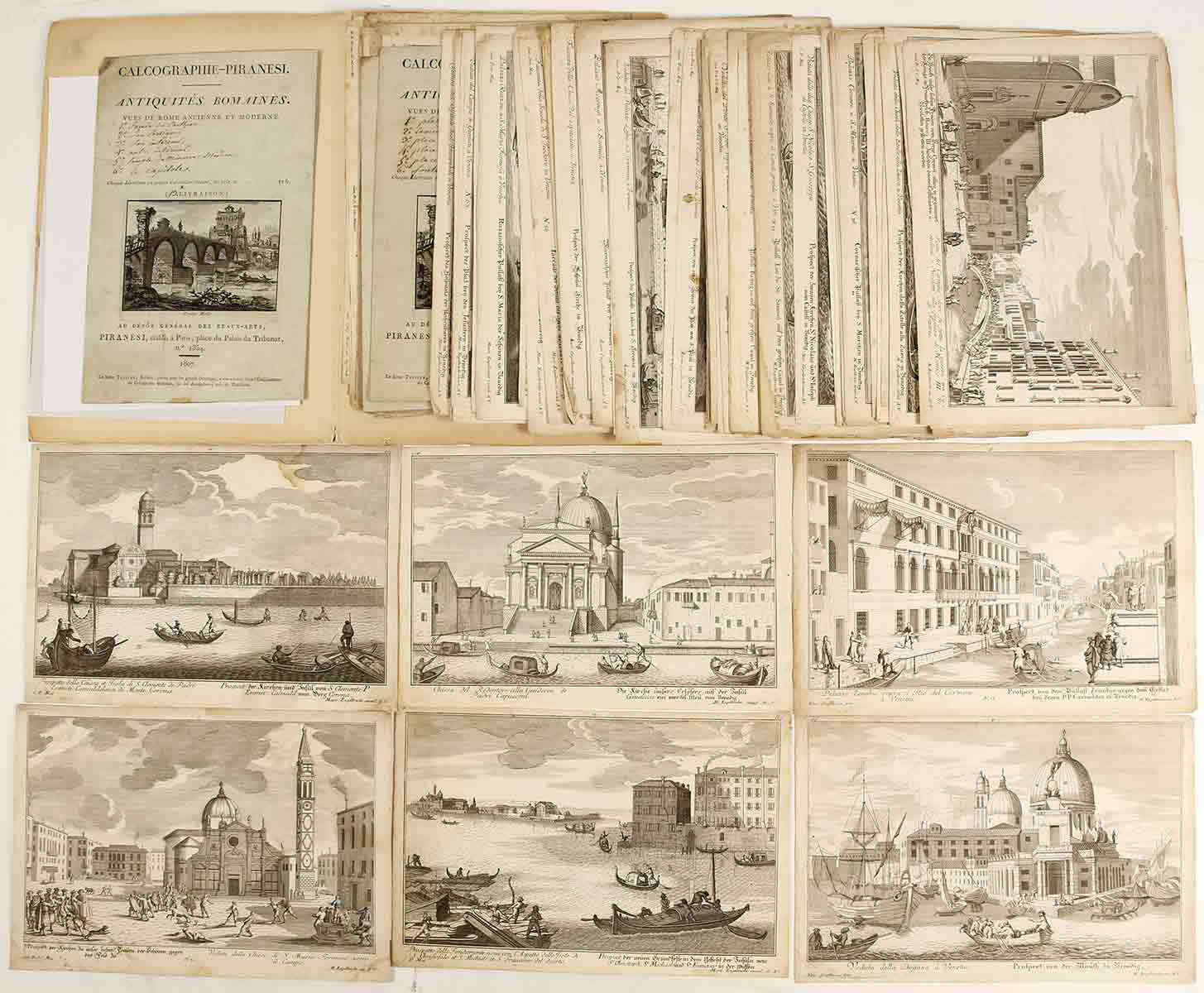 Rome: Original Prints From Piranesi, 1807