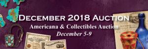 December 2018 Auction