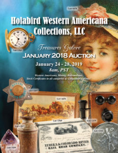 January 2018 Auction Catalog Cover