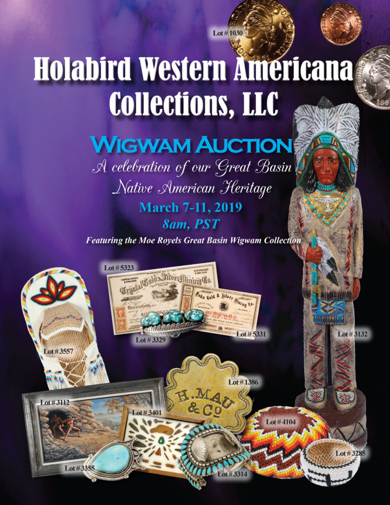 Wigwam Auction Cover