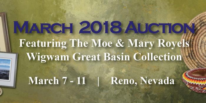 March 2019 Wigwam Auction