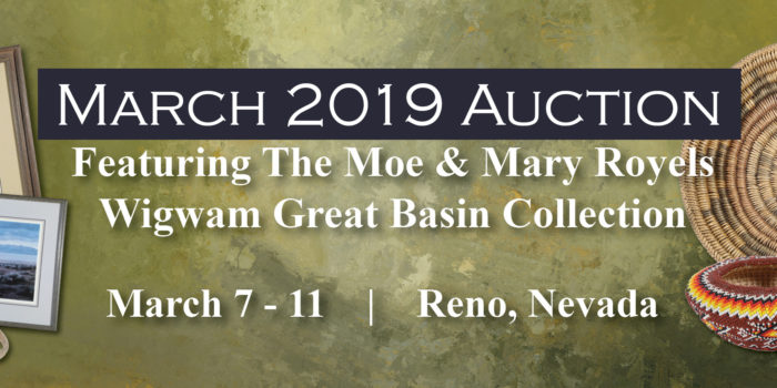 March 2019 Wigwam Auction