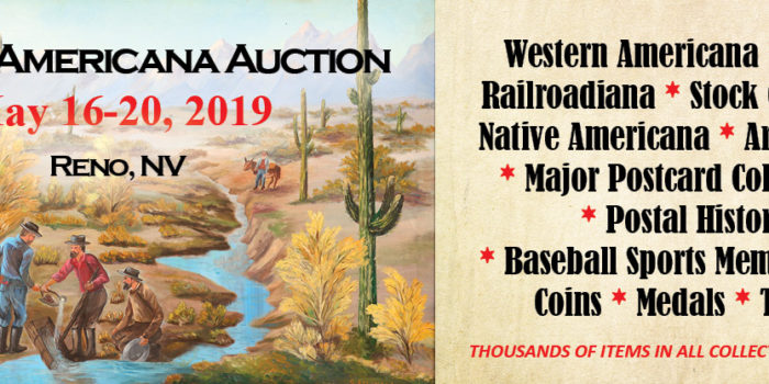 Spring 2019 Americana Auction