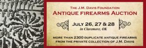J.M. Davis Foundation Antique Firearms Auction