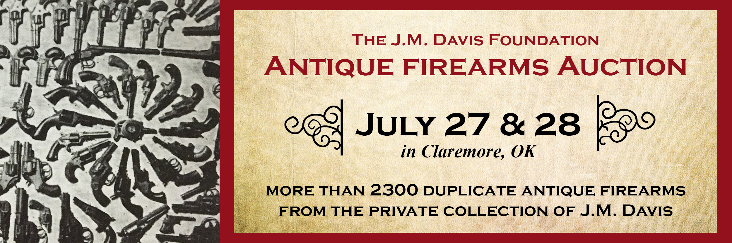 J.M. Davis Foundation Antique Firearms Auction