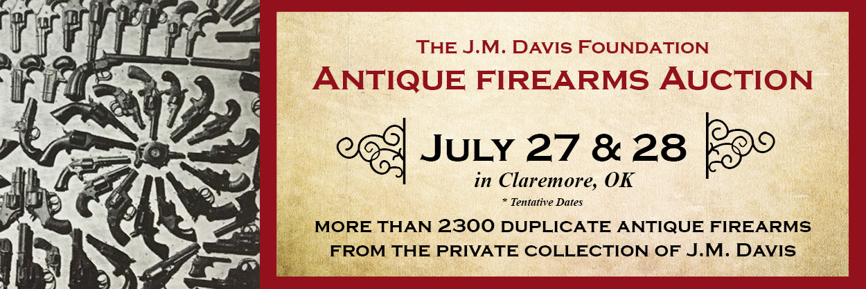 JM Davis Foundation Gun Auction
