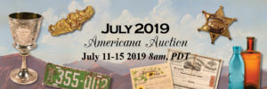 2019 July Americana Auction