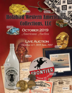 October Auction Catalog Cover