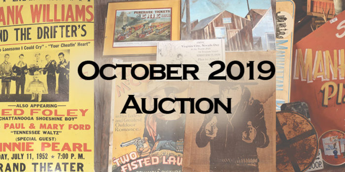 October Auction