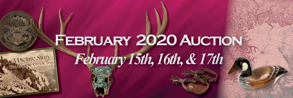 February 2020 Auction