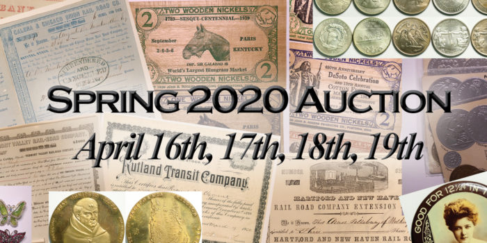 Spring 2020 Auction