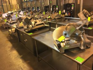 Day 1 – Food Service Equipment Warehouse Auction