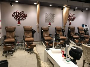 Nail Salon Online Auction
