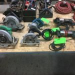 Power Tools, Contractor Supplies & Office Furniture