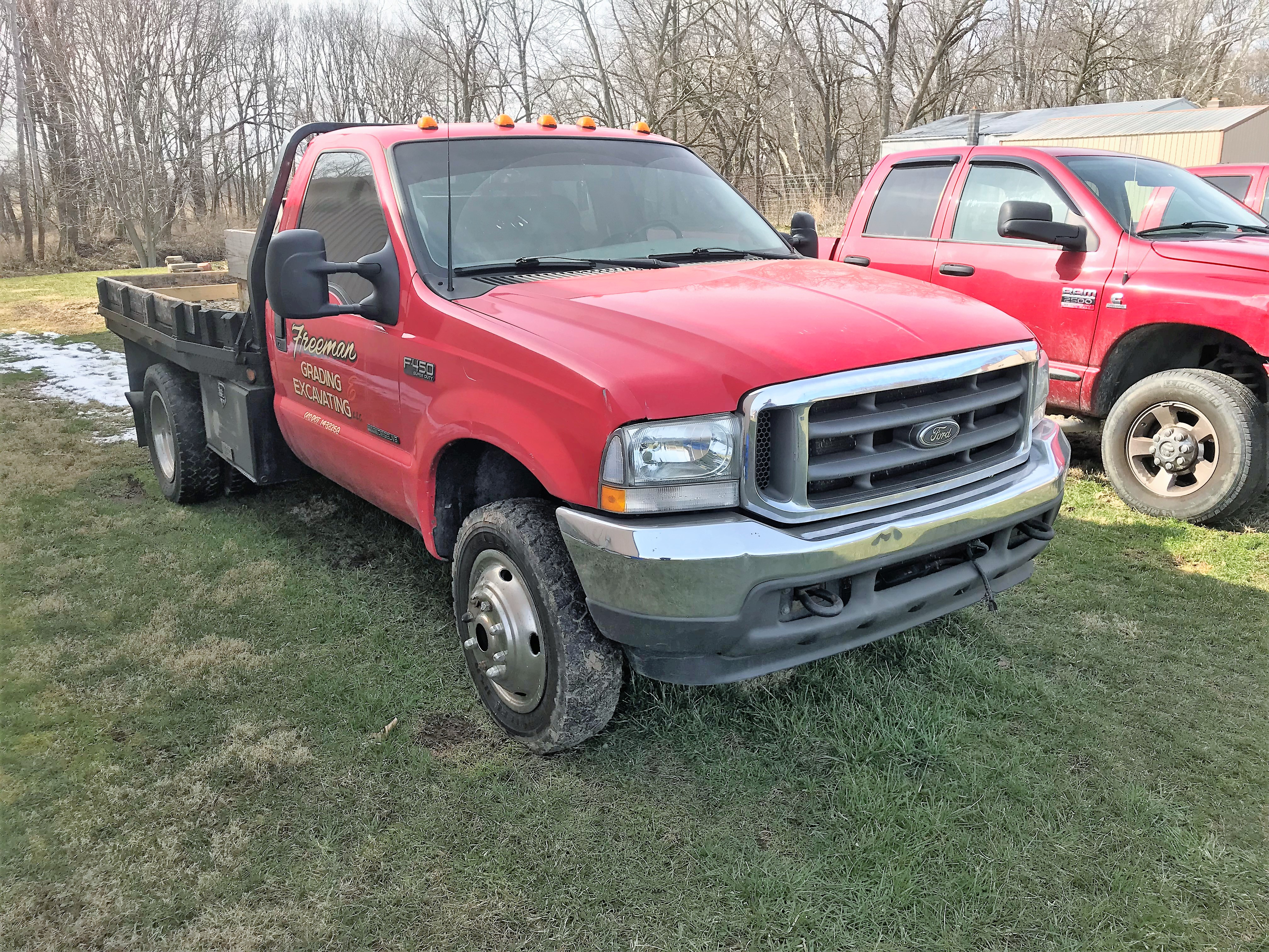 2003 Ford F450 Truck