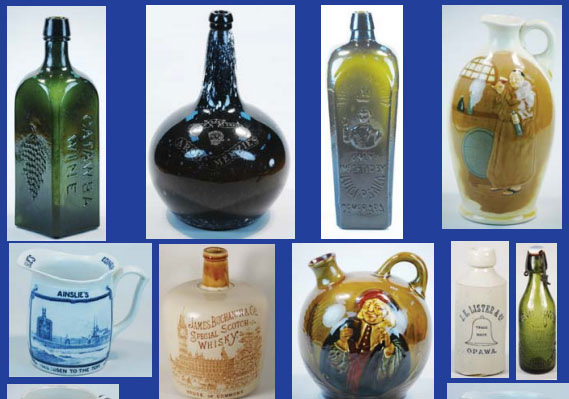 Live Auction Of Antique Bottles & Collectables
