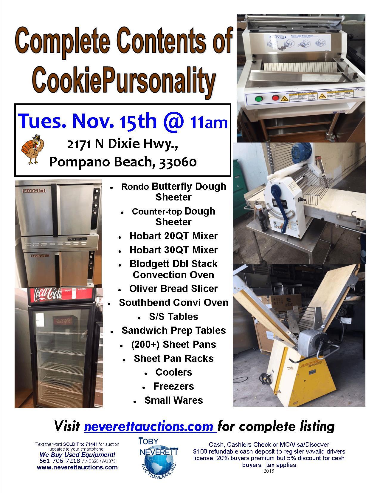 Cookiepursonality Flyer