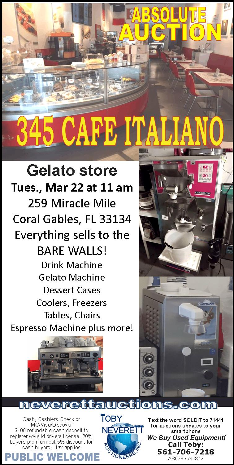 FLYER FOR 3.22 Cafe Italiano Trn