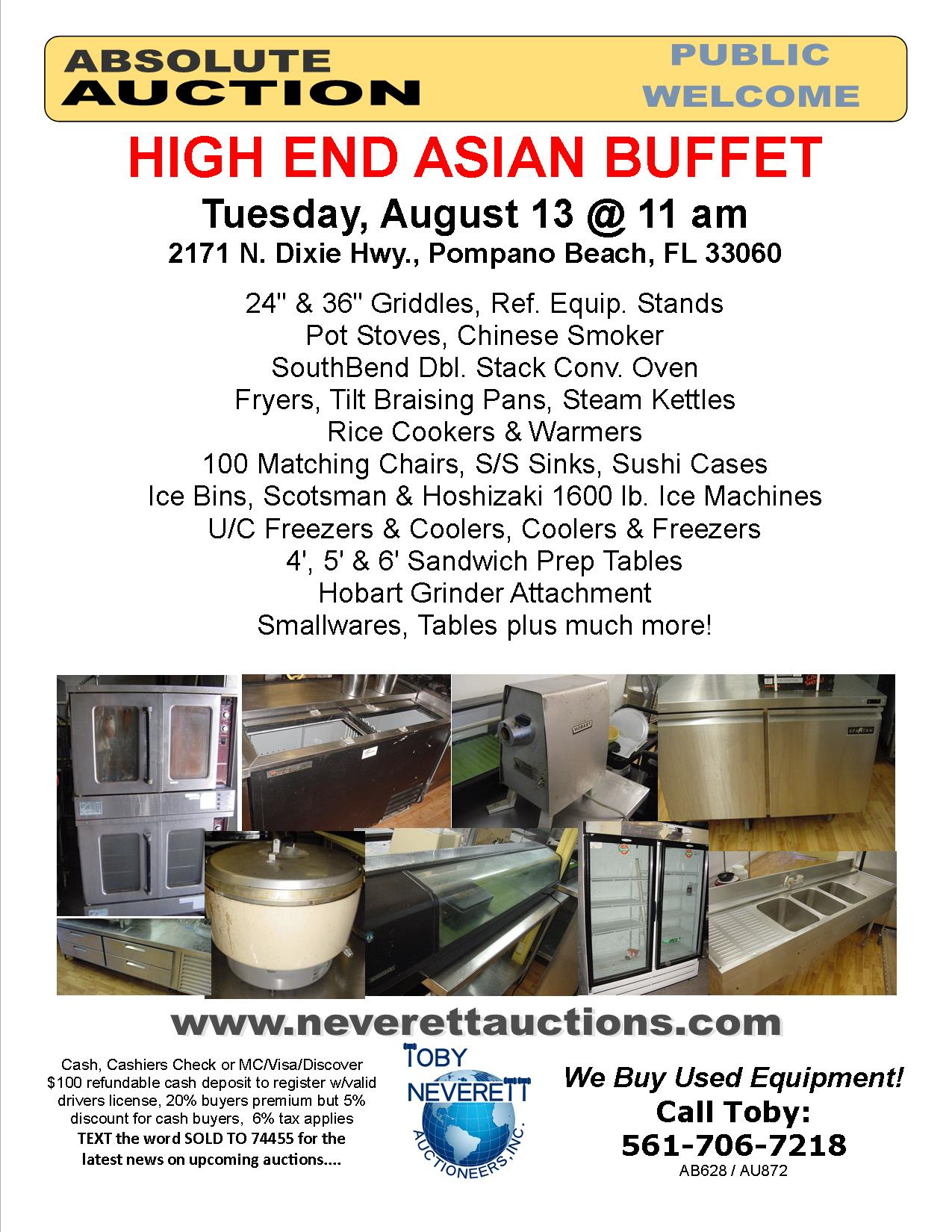 Flyer For August Auction1