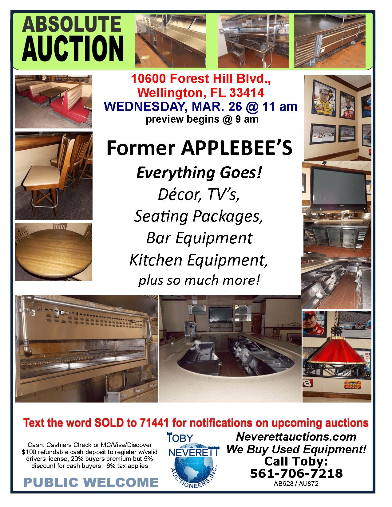FLYER MARCH 26 AUCTION