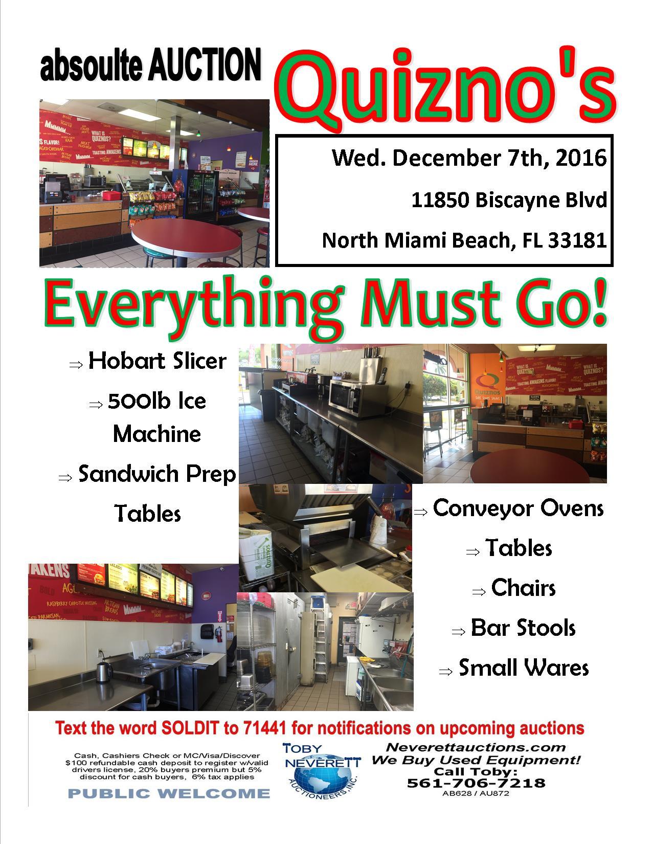 Quiznos Flyer