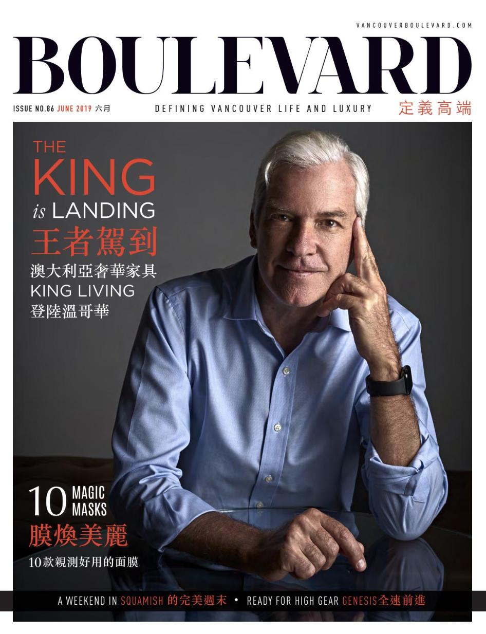 BOULEVARD MAGAZINE CHINESE JUNE 2019