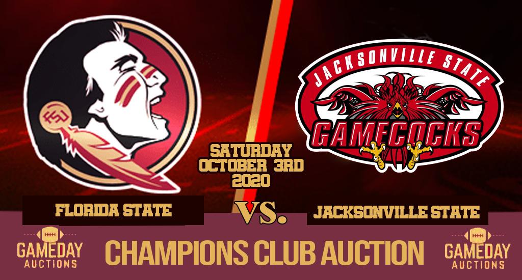 FSU vs Jax St. Champion's Club Auction
