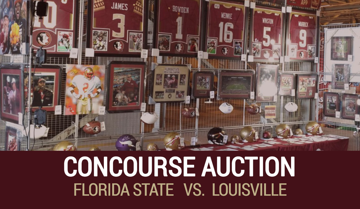 Florida State v. Louisville Concourse Auction