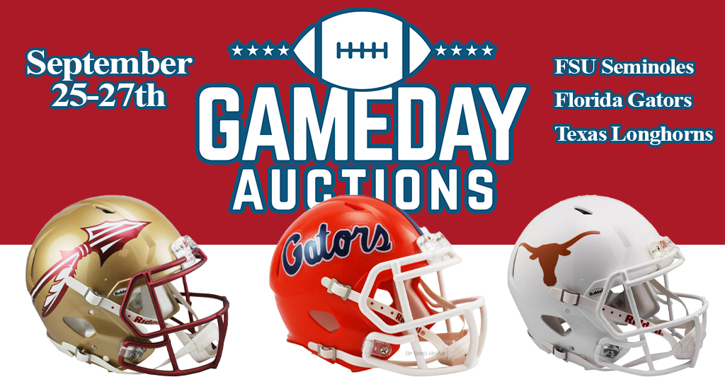 Gameday Auctions 2020 – Week 1