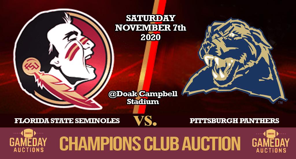 FSU vs Pitt Champions Club Auction