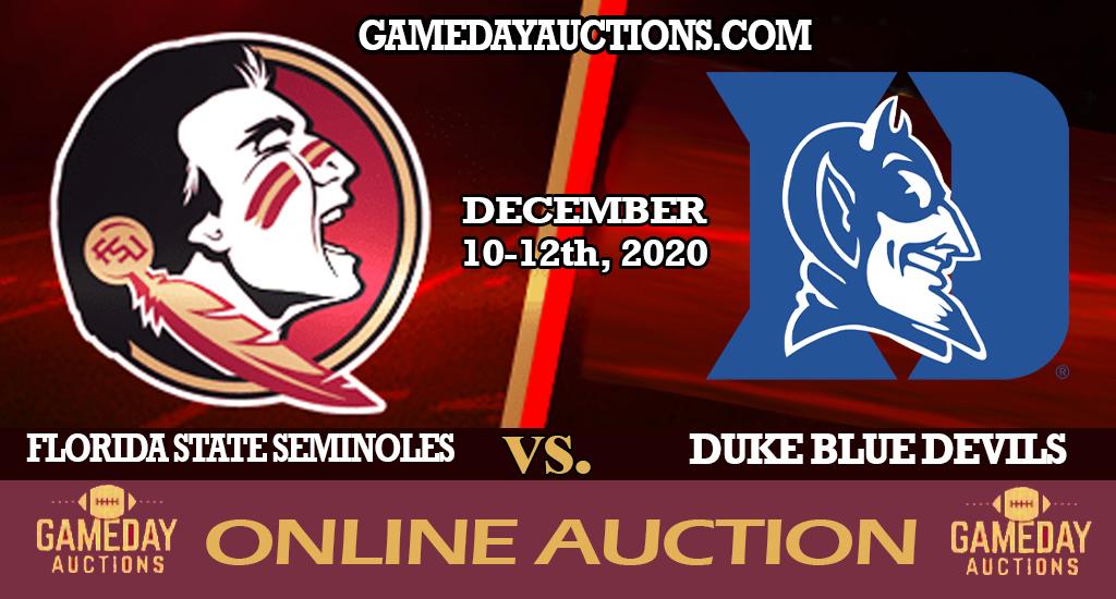 FSU vs Duke Online Auction