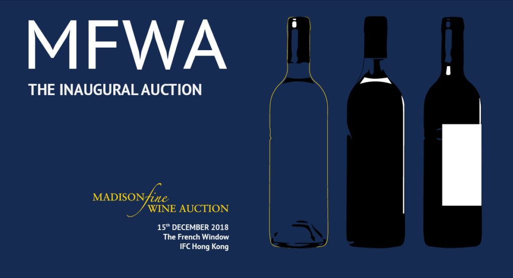 15 DECEMBER 2018 | THE INAUGURAL AUCTION