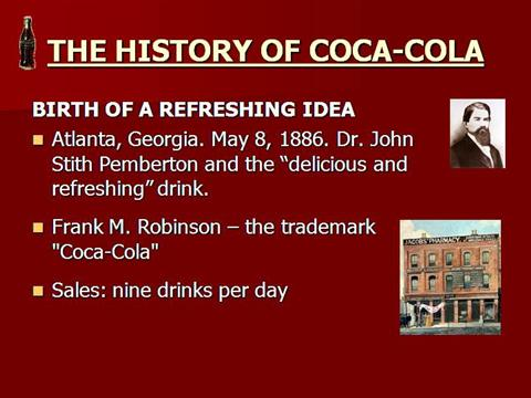 history of coca cola in bangladesh Supply chain management of coca-cola bangladesh presented by: the mean girls coca-cola is the world's largest beverage company  coca-cola's history began in 1886.