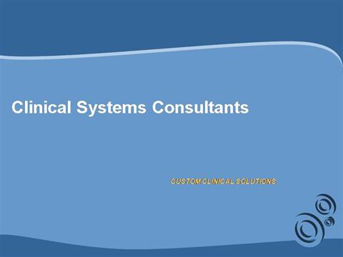 Clinical Systems Consultants Inc Authorstream