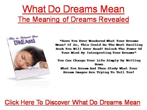 what does dream mean