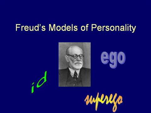freuds model of personality